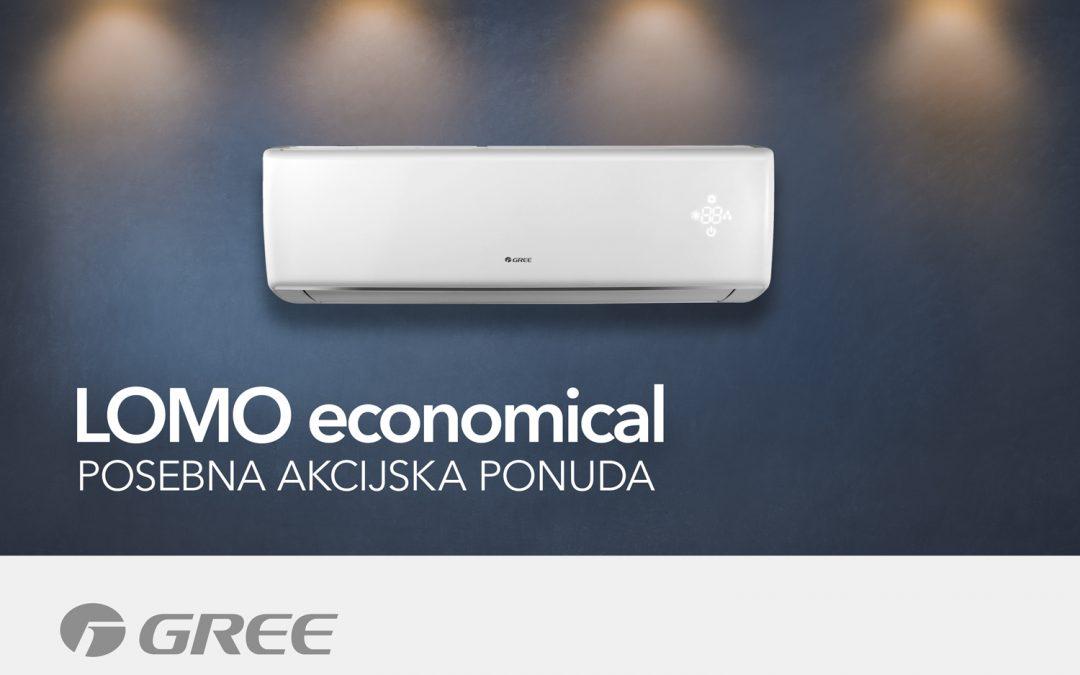 AKCIJA – Gree Lomo Economical