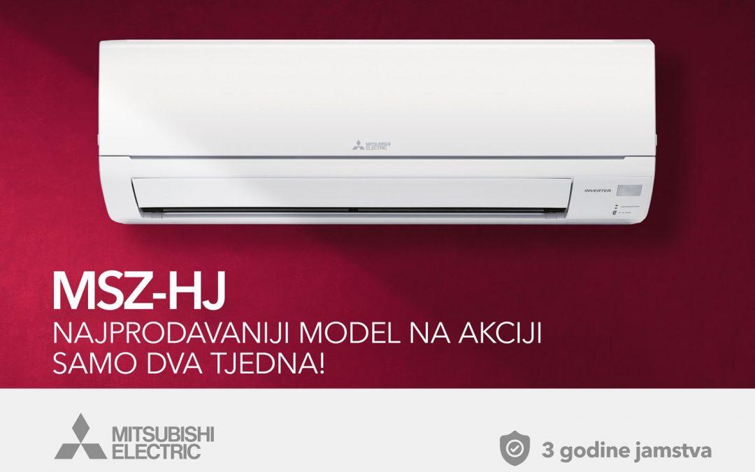 Najprodavaniji Mitsubishi Electric klima uređaj na akciji!