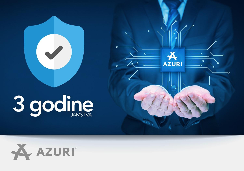 AZURI – još više garancije!